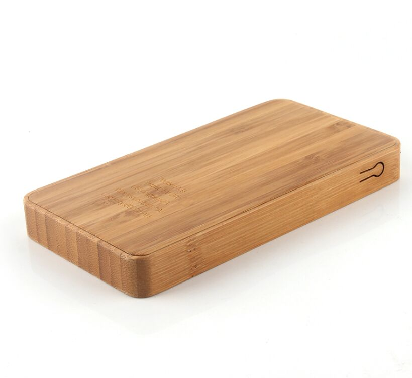 wood and bamboo wireless power bank-1