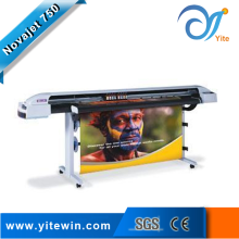 1.5M indoor and outdoor inkjet plotter with 4 head, 4 color novajet 750