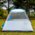 New arrival waterproof luxury outdoor 6 person family camping tent