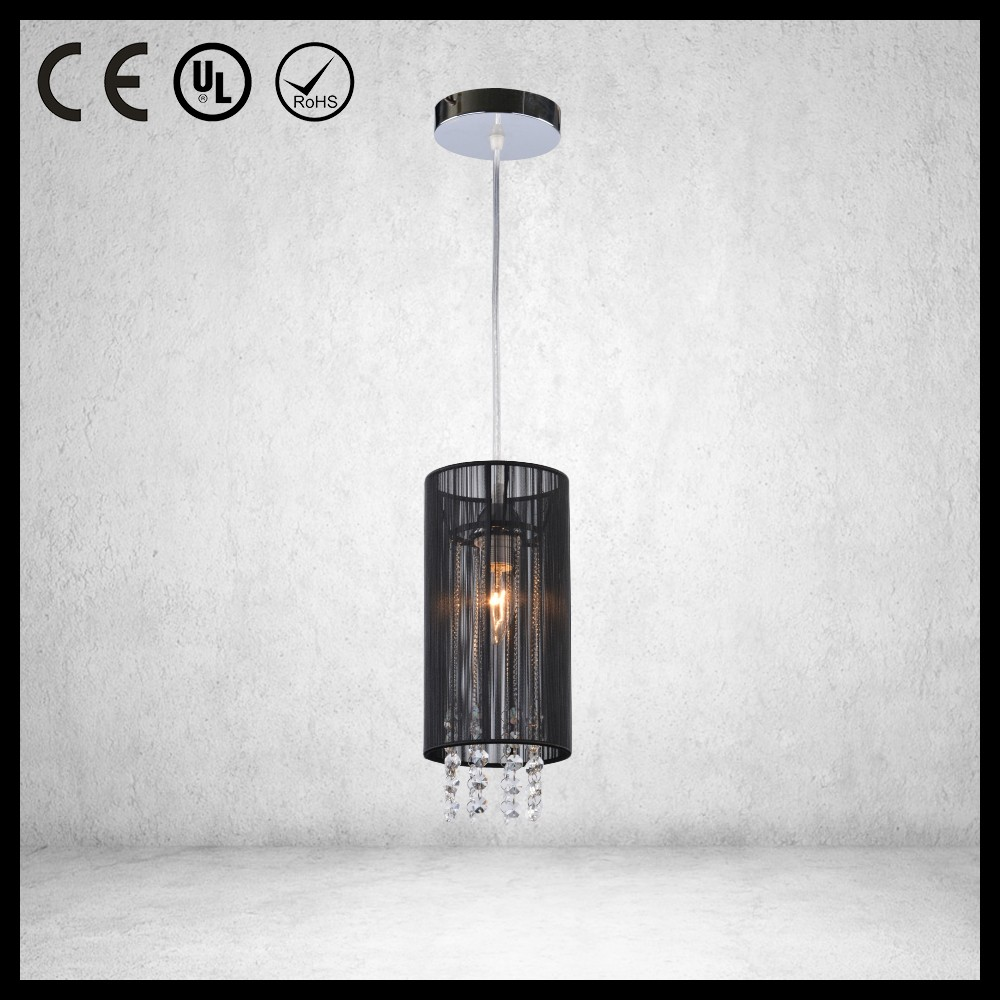 CE certificate Chinese style hanging fabric lamp shades