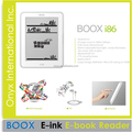 Fashion cheap Onyx ebook reader 8 inch E-ink pearl screen with front light