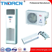 BKR Explosion proof floor standing air conditioner 220V 380V