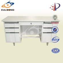 China supplier kd steel industrial style office desk