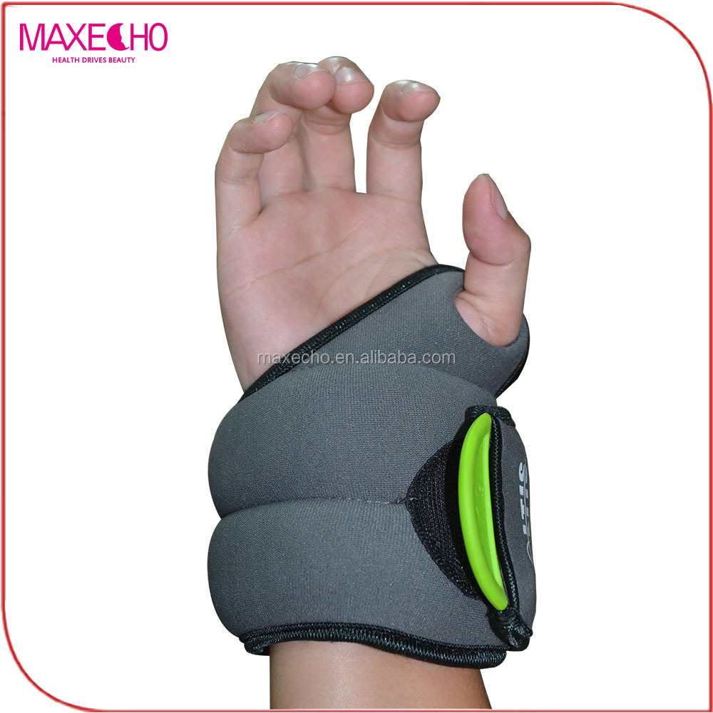 MAXECHO Thumb-lock Wrist <strong>Weight</strong> Set(1kg)