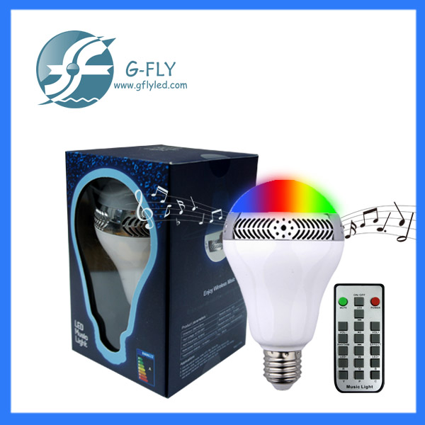 Factory supply Music mini smart bluetooth light <strong>bulb</strong> speaker RGB led <strong>bulb</strong> e27 led <strong>bulb</strong>