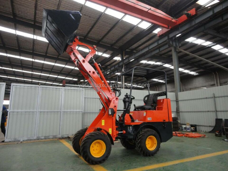 China supplier compact cheap small garden tractor loader backhoe loader