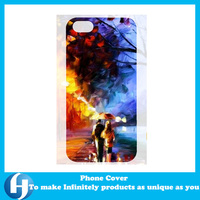 Customized Design Hard PC TPU Rubber Hybrid 3D Phone Case For iPhone and Samsung