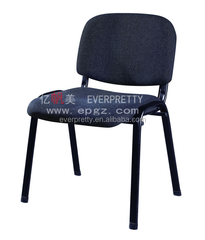 Promotion fabric office chair ,metal frame conference chair ,high quality office visitors/guess chair