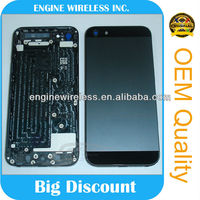 replacement parts for iphone 5 back cover housing,OEM china