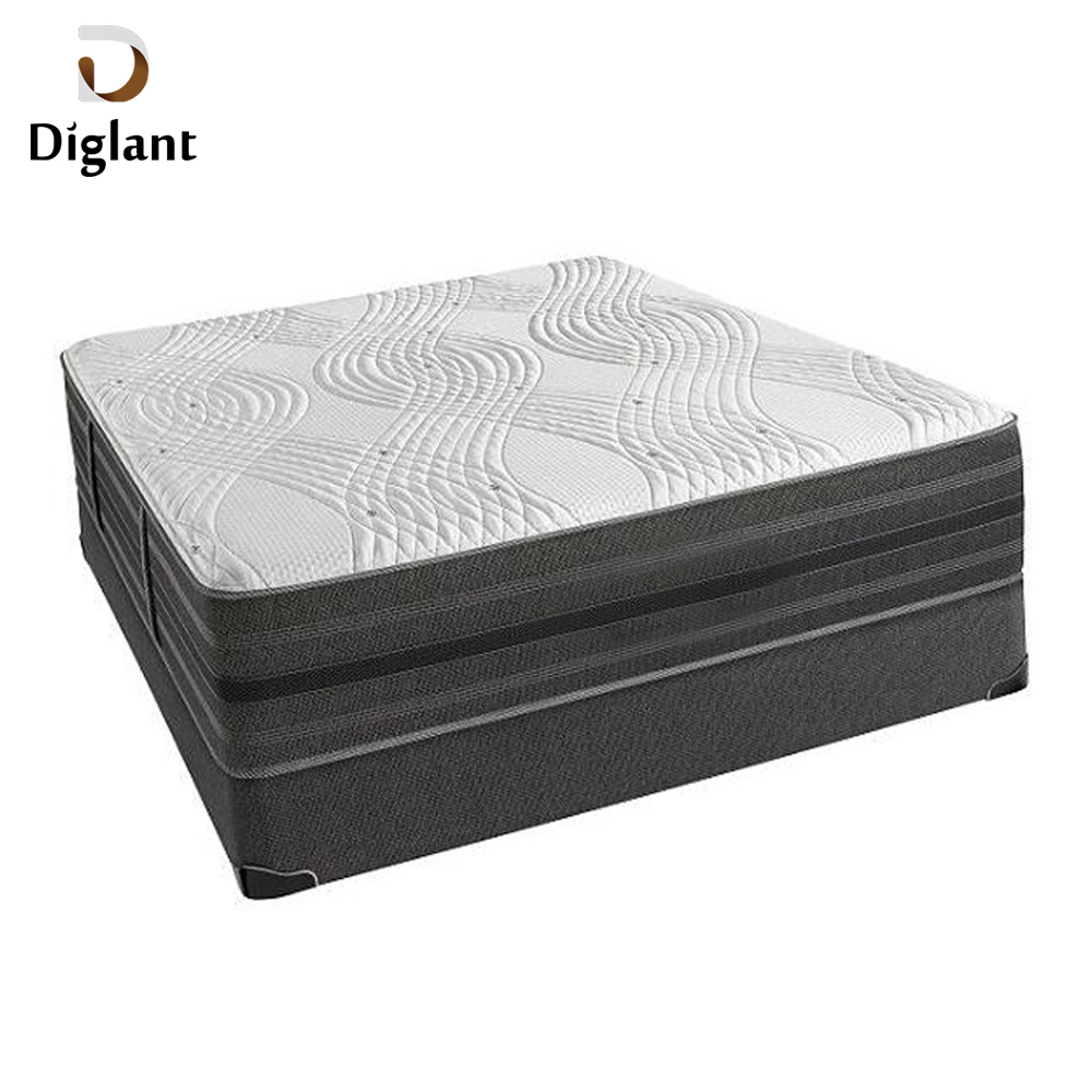 DM023 Diglant Gel Memory Latest Double Fabric Foldable King Size Bed Pocket bedroom furniture waterproof outdoor mattress - Jozy Mattress | Jozy.net