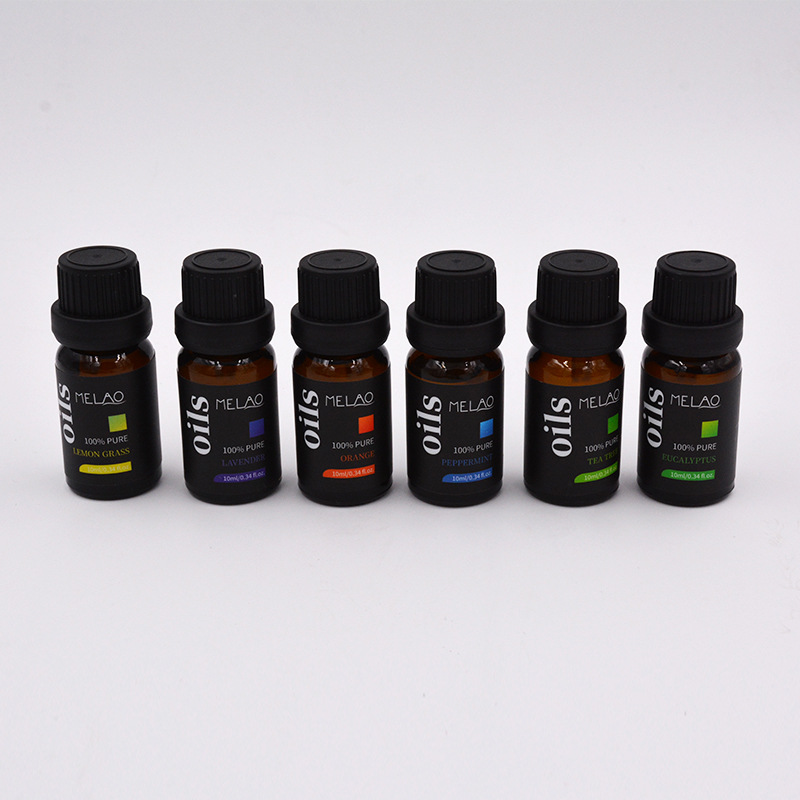 6 ESSENTIAL AROMA <strong>OILS</strong> oem aromatherapy essential <strong>oil</strong> 10ML Amazon ebay cross-border source <strong>oil</strong>