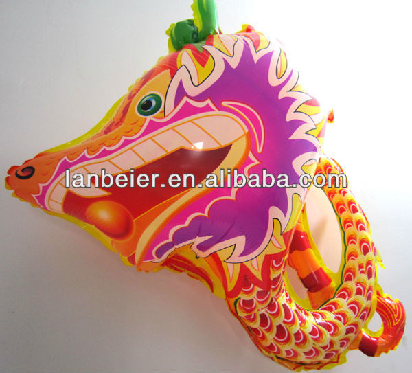 Factory outlet Chinese Dragon cartoon shape balloon type