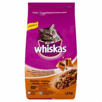 WHISKAS 1,5KG Adult Chicken Cat Food FMCG hot offer