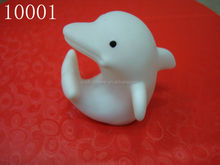 dolphin shape led night light PVC toy 10001