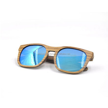 China zebra wood cycling polarized sunglasses manufacturers