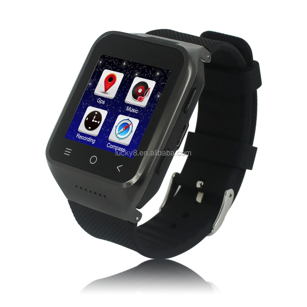 3g smart watch phone, heart rate monitor watch, stopwatch