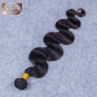 100g/Bundle, 100% Virgin Indian Hair, Unprocessed Indian Temple Human Hair Extension