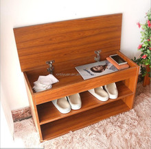 simple wooden color customized sizes shoe racks