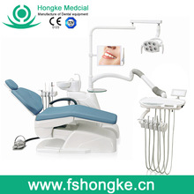 3-Memory Program Dental Chair Unit with LED sensor lamp light cure and scaler