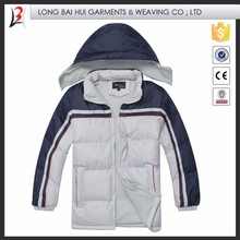 boy winter padding stylish jacket with hood