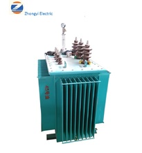 China Factory outdoor Dyn11 three phase oil immersed 20kv /0.4kv power transformer S9