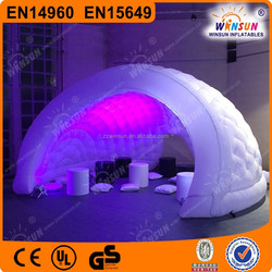 Popular custom made oxford cloth inflatable gazebo, dome tent inflatable for sale