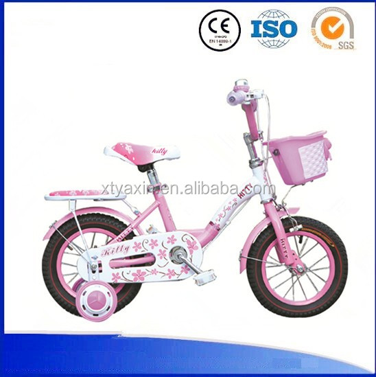 Hot sale girl's sweet style children bike/kids bike for 3 5 years old child with cheap price