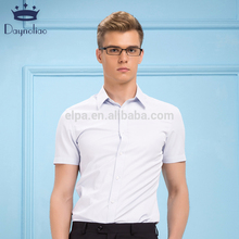 Daynoliao latest design twill cotton white short sleeve cotton men shirt