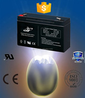 JL Brand High Performance 6V10Ah lead acid battery for ups/eps system, alibaba credit guarantee battery, can OEM.