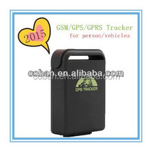 Factory sale mini waterproof gps tracker tk102B with sim card for persons and pets for persons and pets