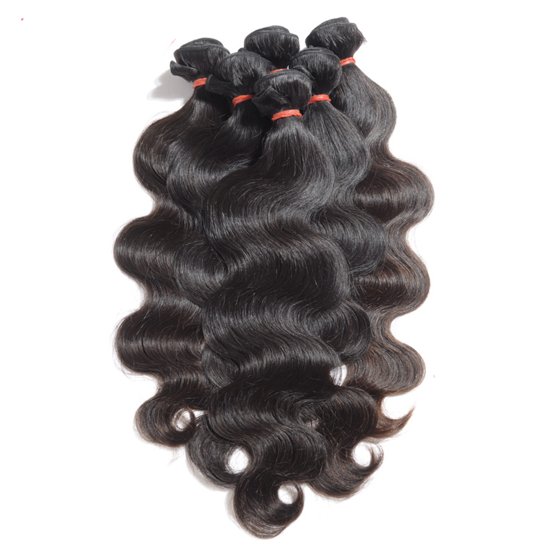 Befa hair 8A body wave virgin hair 3 bundles raw indian hair directly from india