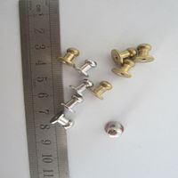 Wholesales Cheap Price Metal Garment Studs,Brass Garment Nipple Nail,Metal Screw Studs