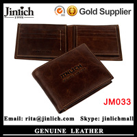 Coin Case Card Holder Men's Fashion Leather Wallets for Passport