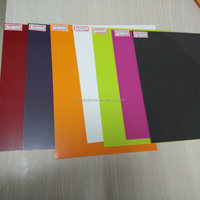 Solid Color Pvc Plastic Sheet For