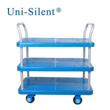 Capacity 200kgs Hospital Laundry and Transport Cart with Noiseless Wheel