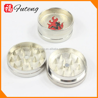 Many style magnetic dry herbal metal Mini cigarette Grinder for smokers