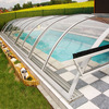 fiberglass swimming pool cover construction materials polycarbonates