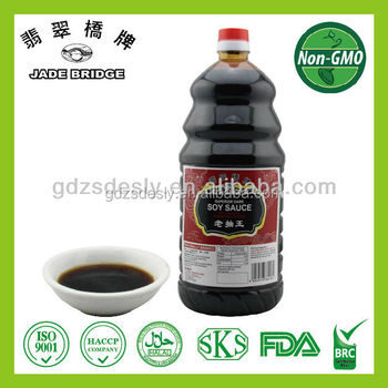 NO Preservative high quality dark soy sauce