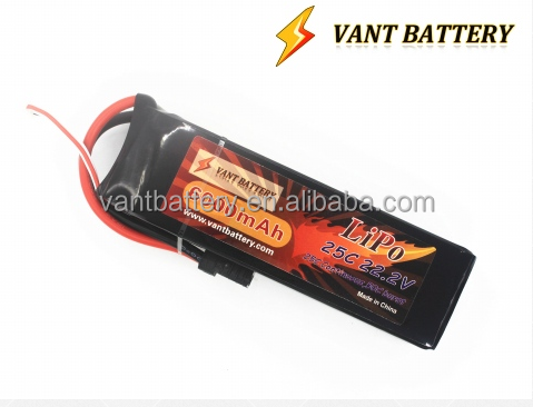 lipo battery manufactory lightest 22.2V 6000mah lipo rc battery pack 25C for giant scale F3C ,uav lipo