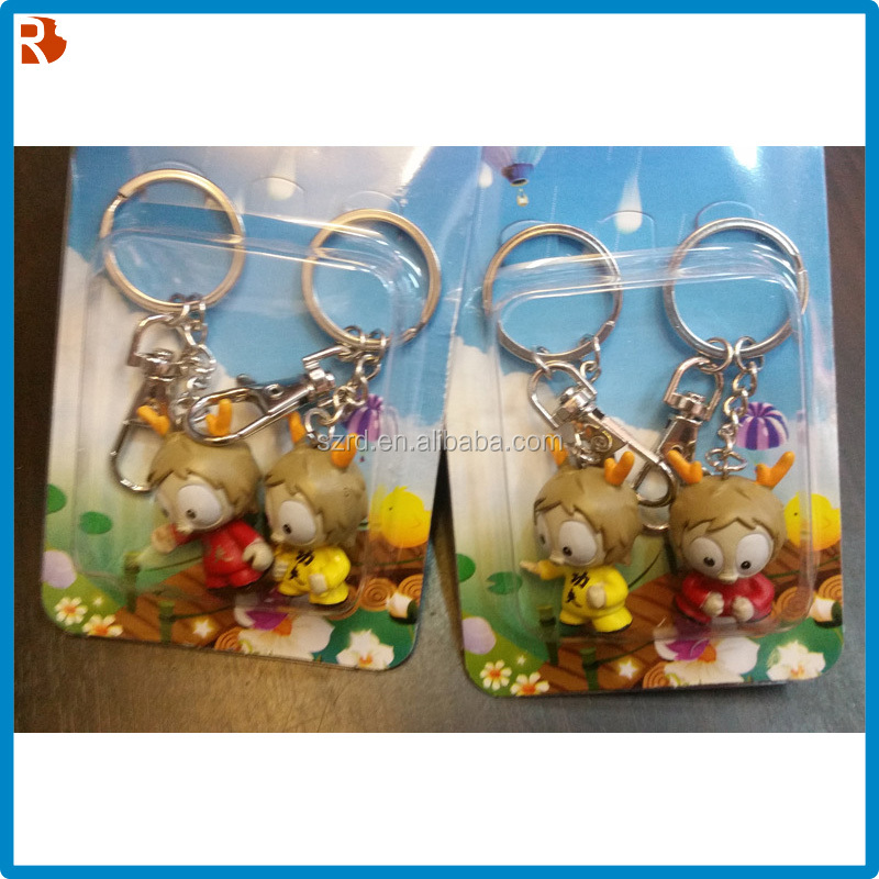 Attractive designs china supplier led promotion keychain making supplies
