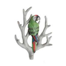 Resin Animal Bird Clothes Hooks Wall Hanging Decoration for Sale