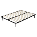 hot sale strong mattress foundation platform metal slatted bed frame DJ-PP02