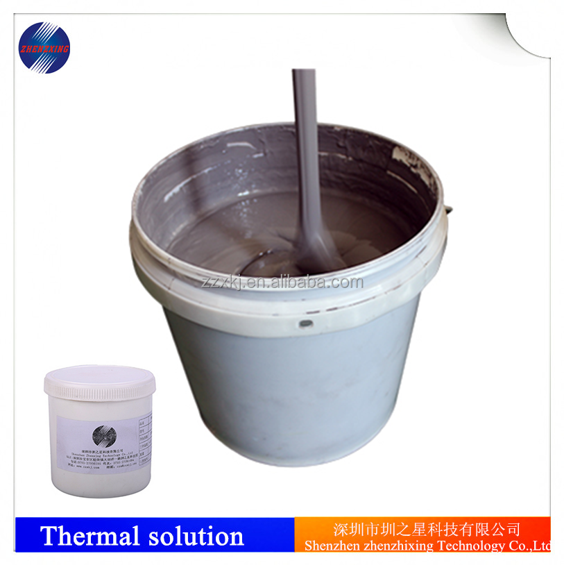 High viscosity type silicone compound Thermal conductive paste cpu