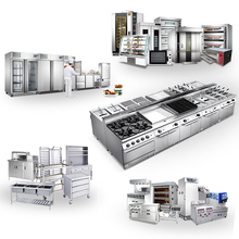Commercial Kitchen Equipment Western and Fast Food Restaurant Turn-key Design and China Supply