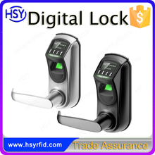 HSY-L7000 Detachable Handle Access Control Fingerprint Digital Door Lock with High quality and Top security