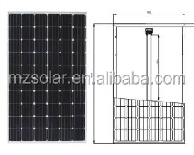 Germany standard 120w 300 400w watt solar panel