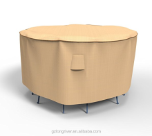 Tan Medium Bar Table and Chair Combo Cover