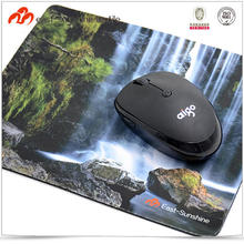 Custom shape office microfiber photo insert mouse mat