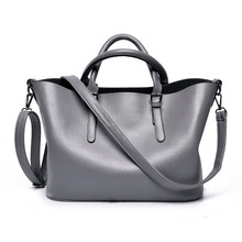 2018 new women leather bag handbag fashion handbags popular Europe and the United States simple bag wholesale