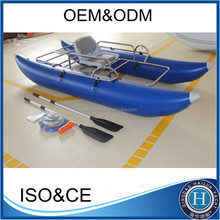 2016 Customizable PVC Inflatable Fishing Pontoon Boat For Sale